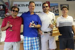 2014 Winners: Ivan Grgic, John Madunic, Rod Mustapic, Steve Oreskovich